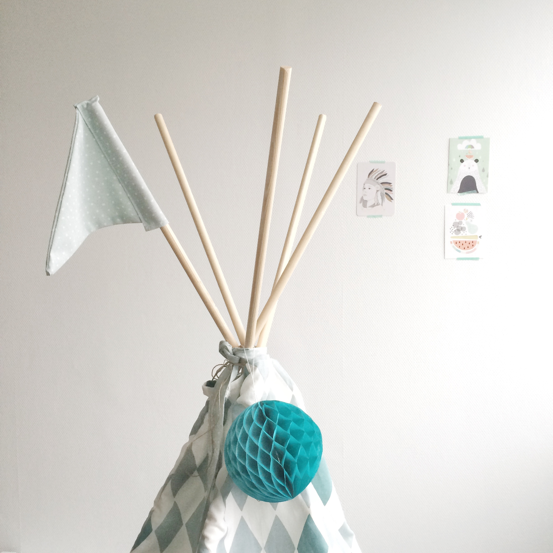 New DIY: Tipi tent | Stefanie Jansen &IW07