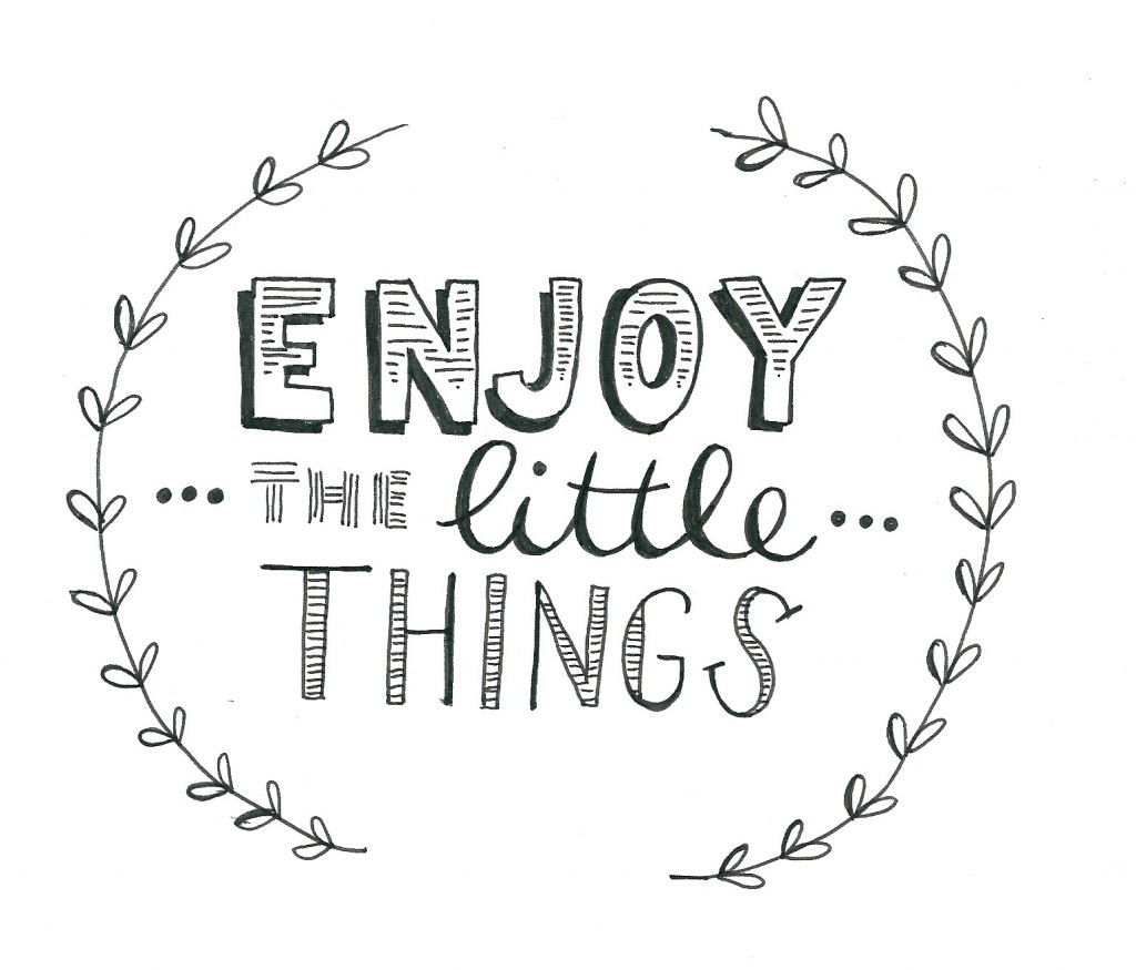 enjoythelittlethings-handlettering